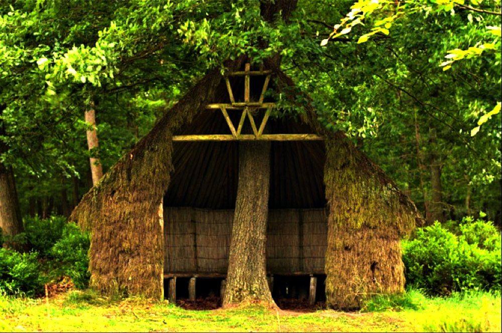 Vennema¹s Hut Kroondomein Het Loo Apeldoorn