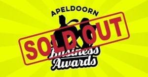 Apeldoorn Business Awards uitverkocht