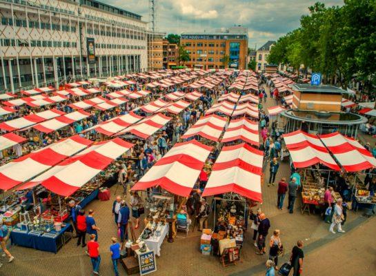 Grote antiekmarkt op donderdag 20 augustus op het Marktplein