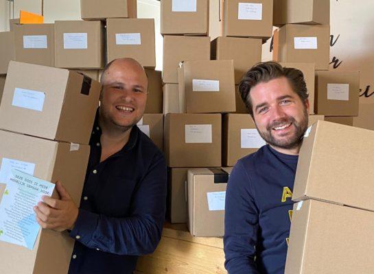 Doe een kleine ondernemer in Apeldoorn een gratis steunpakket cadeau
