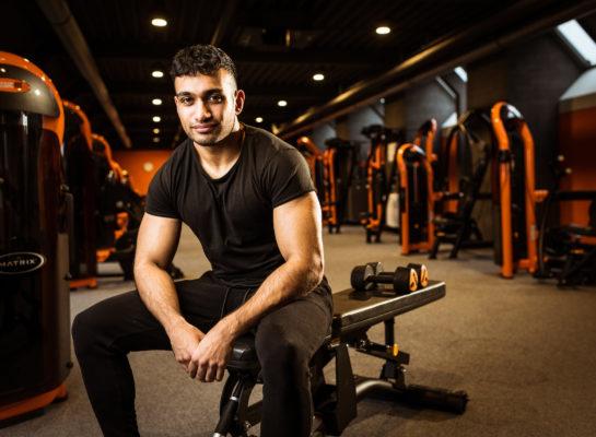 """Voor Rishi is het nu niet makkelijk: """"De sportschool is ook m'n sociale leven"""""""