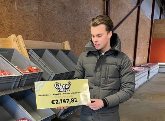 Ondernemer Tijs Turkenburg (19) is met bestelplatform Chow 'here to stay'