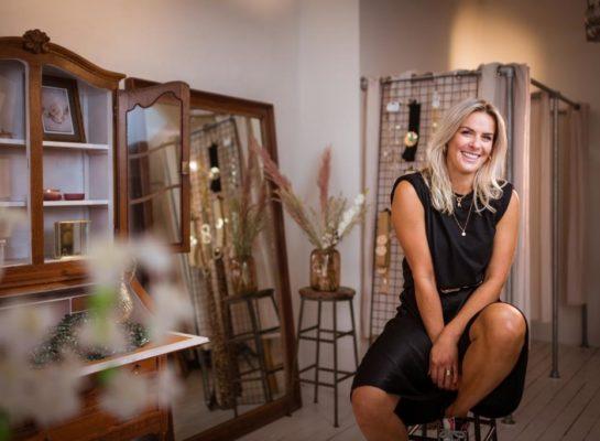 """Anna van den Heuvel is eigenaar van Fashion Café: """"Ik ben er wel creatiever van geworden!"""""""