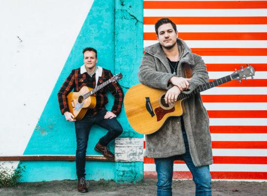 Muzikanten Sjoerd & Tom: 'We hopen weer op volle zalen!'